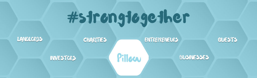 Pillow #strongertogether Stronger together pillo